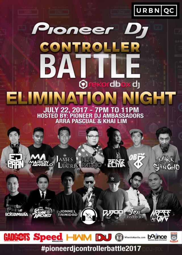 DJ, events, music, pioneer, pioneer dj, pioneer dj controller battle 2017