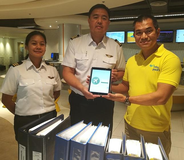cebu pacific, electronic flight bags, ipad, tablets
