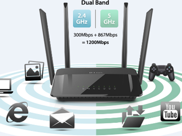 dir-842, dual-band, gaming, online, router, streaming, wi-fi, d-link