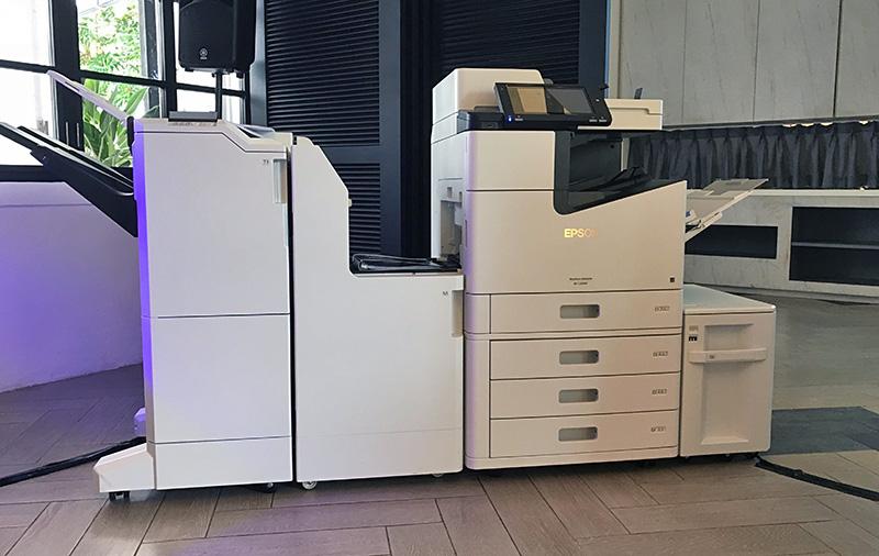 The Epson WorkForce Enterprise WF-C20590 is an inkjet