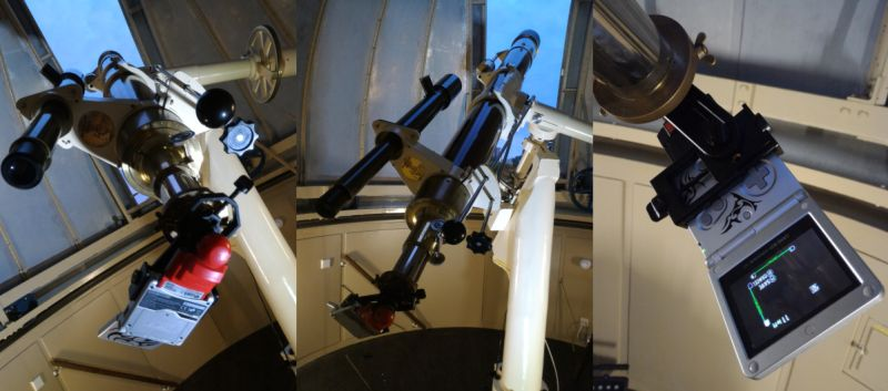 Here's how Alexander's setup looked like.Note the two-bit camera attachment in the first picture. <br> Image source: Gizmodo.