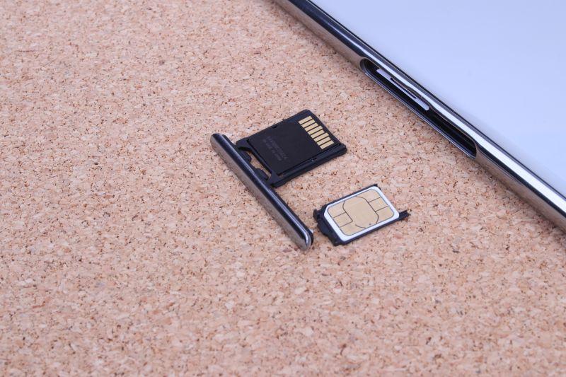 The dual SIM setup of the Xperia XZ Premium consists of a separate Nano-SIM card slot and a hybrid Nano-SIM and microSD card slot.