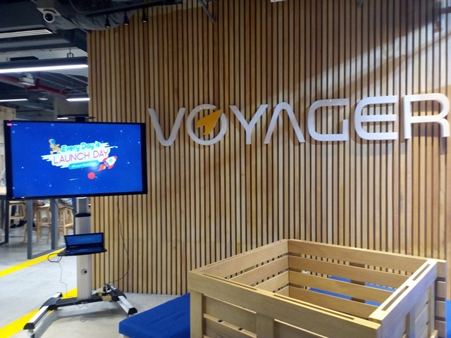 launchpad building, offices, paymaya, voyager innovations