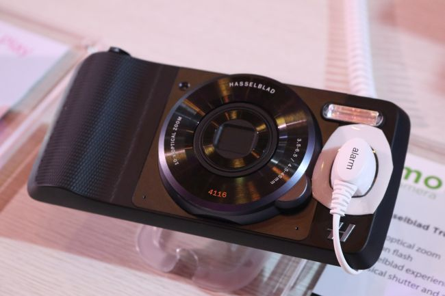 The  Hasselblad camera Moto Mod.