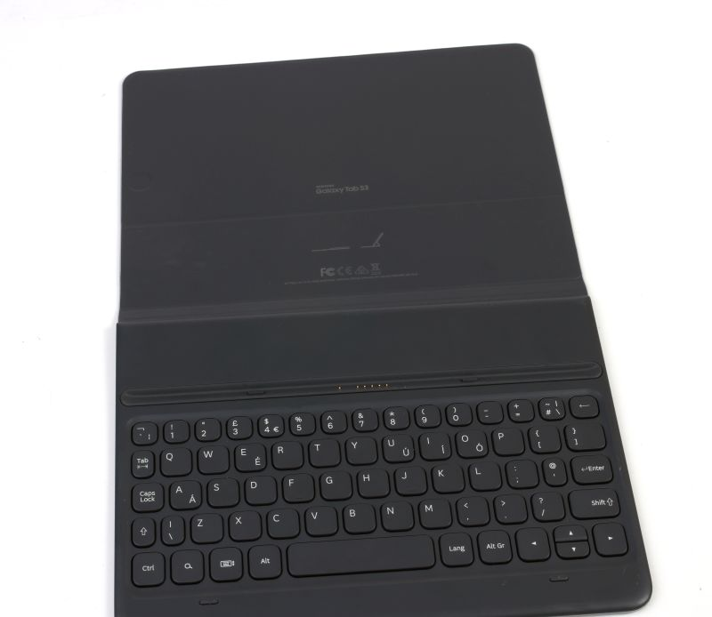 The POGO keyboard case is available as a separate purchase.