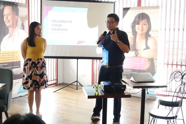 Two of the co-founders of Taxumo, COO Ginger Arboleda and CEO EJ Arboleda (Photo from Taxumo)