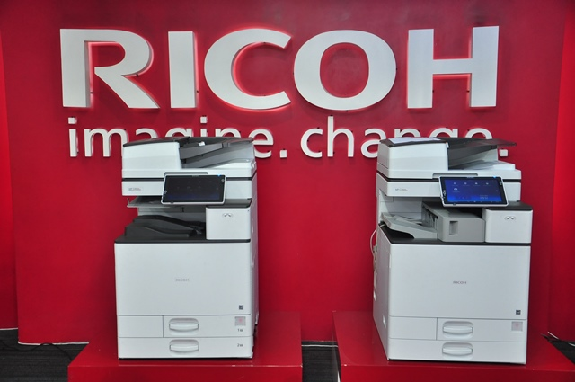 ricoh, ricoh philippines, productivity solutions, office solutions, digital workplace, mpc4504exsp, mpc2004exsp, iwb-d6510, pj-wx4152n ultra short throw projector, hardwarezone, hwm, philippines