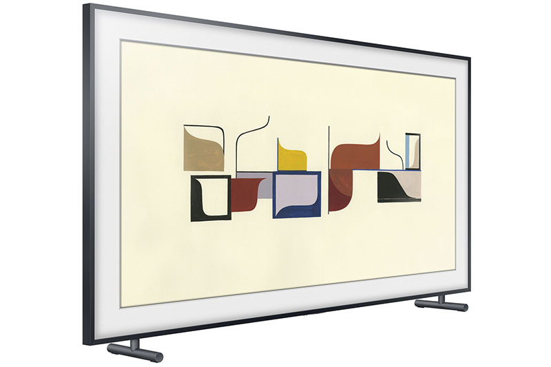 Samsung\'s The Frame is a 4K TV that goes out of its way to look like ...