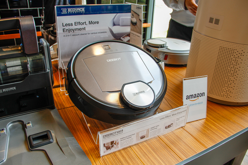 At S$1,199, the Deebot R98 is the highest end model, it ships with a Smart Navi feature that uses lasers to create an internal map of the cleaning space.