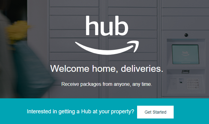 Amazon Debuts Hub Delivery Locker System For Residential