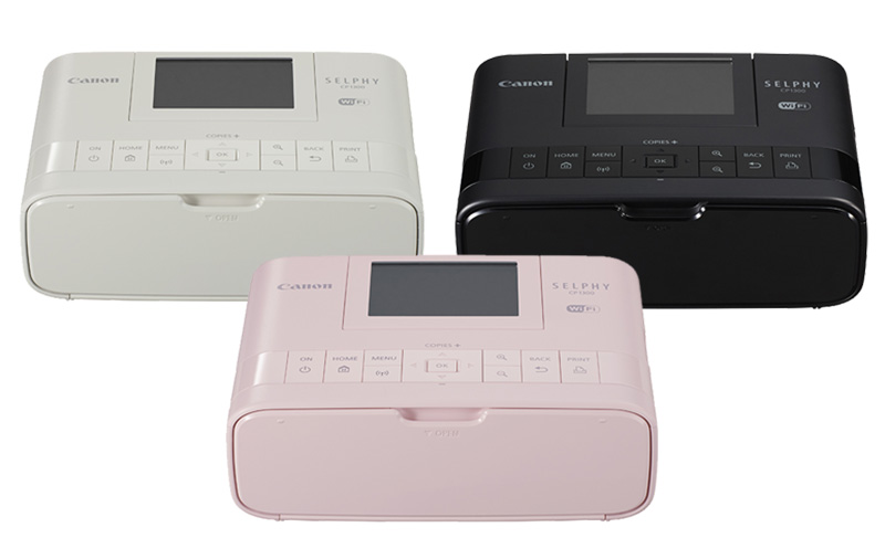 With Canon's new Selphy CP1300 printer, everyone can get in