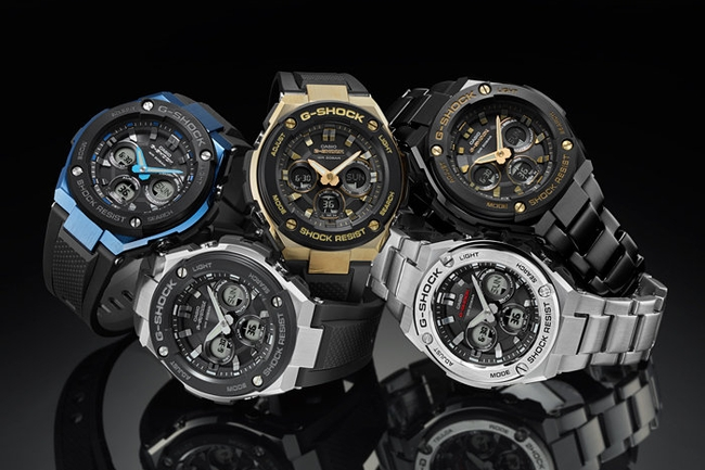 The Mid-Size G-Steel collection.