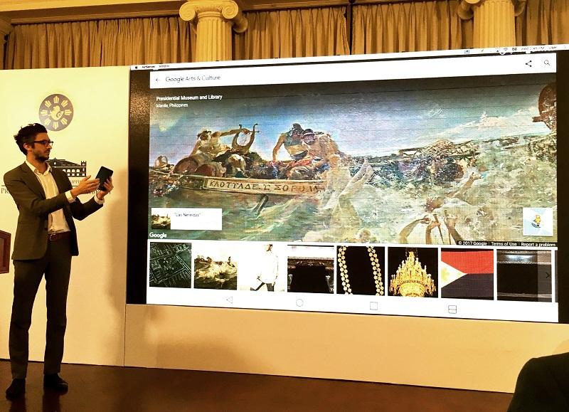 malacanang, google, arts and culture