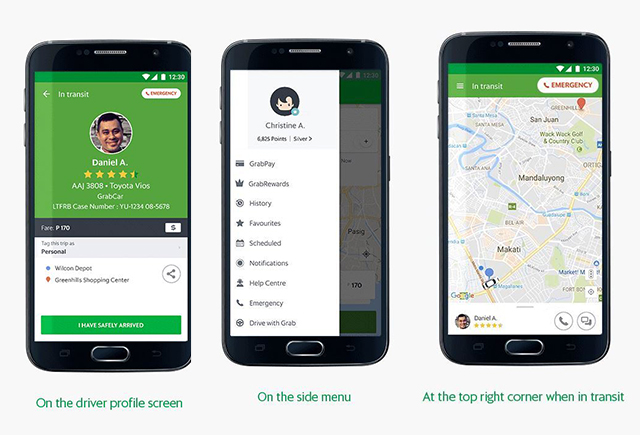 how to change profile picture on grab app
