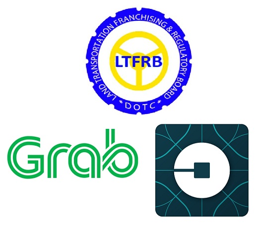 grab, uber, ride-hailing, ride-sharing, apps, ltfrb, certificate of convenience, cpc, provisional authority, suspension, transport strike