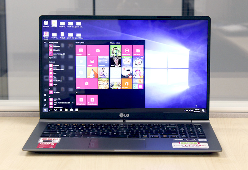 At just 1080g, the LG gram 15 is easily one of the lightest 15-inch notebooks around.