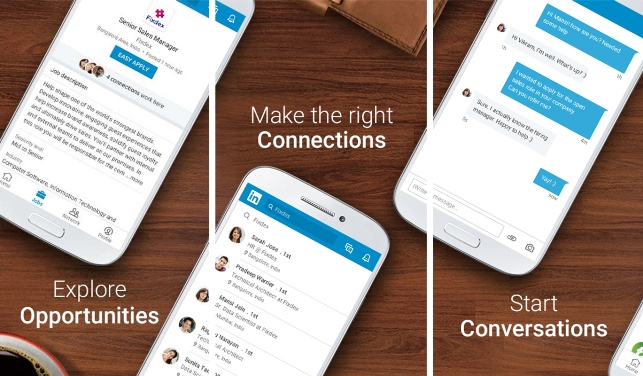linkedin, linkedin lite, mobile application