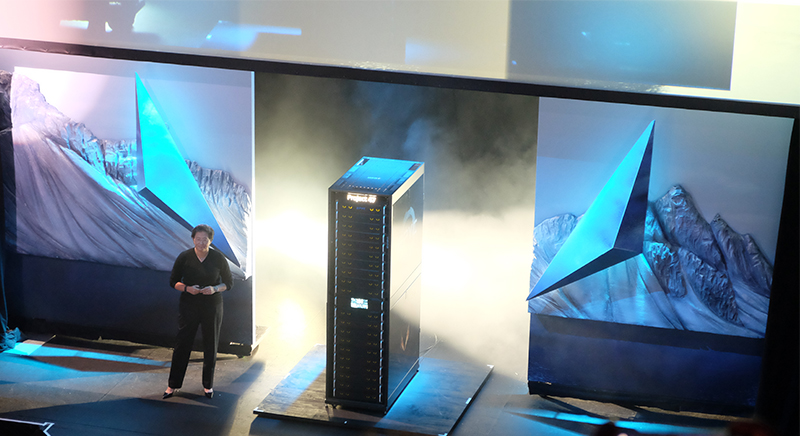The Project 47 is a 1 petaFLOPS parallel computing platform