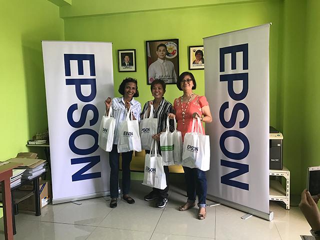 epson, gift of brightness, printers