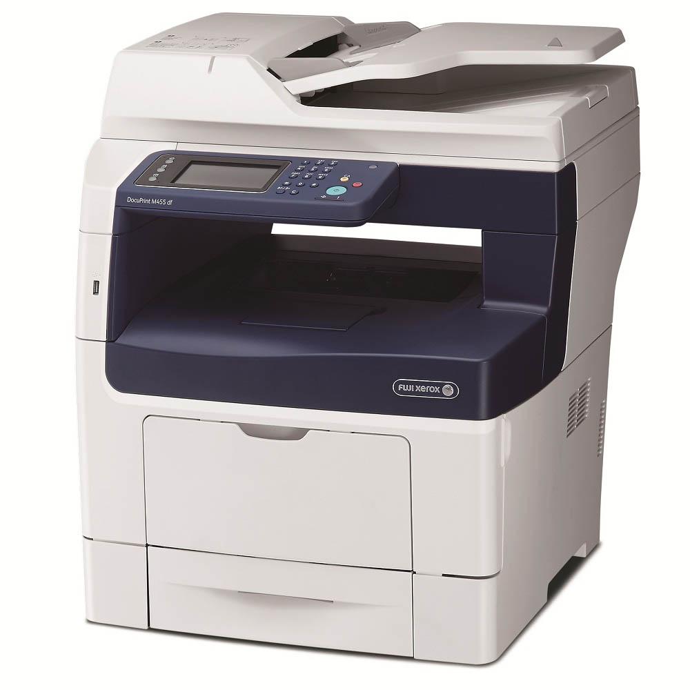 fuji xerox, docuprint m455 df, inefficient, printing, bebi guzman, business, laser printer