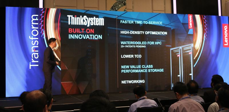 Lenovo announced two new data center solutions for the Malaysian market: ThinkSystem and ThinkAgile.