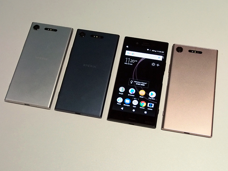 Sony expands their flagship phone range with Xperia XZ1 and