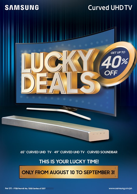 curved soundbar, hardwarezone, hwm, lucky deals, philippines, samsung, samsung curved uhd tv
