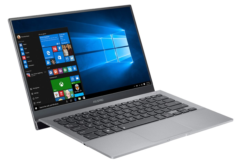 The ASUSPRO B9440 notebook was designed for business and professional users in mind.