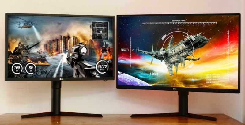 From L-R: The LG 27GK750F and the 32GK850G . <br> Image source: LG.