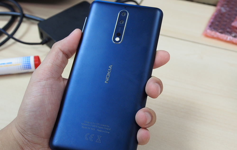 Hands On Nokia 8 Nokia S First Flagship Android