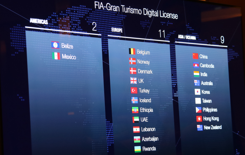 Dear MAM, can we please have Malaysia added to the list of participating countries for the FIA-Gran Turismo Digital License program?