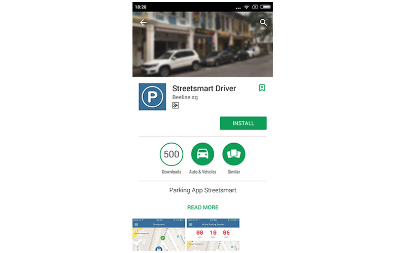The trial version is named 'Streetsmart Driver' on the Google Play Store.