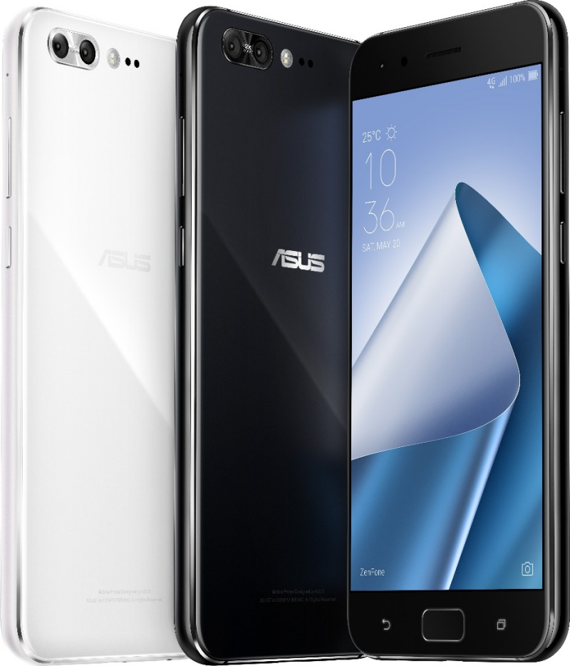 The ZenFone 4 Pro. <br> Image source: ASUS