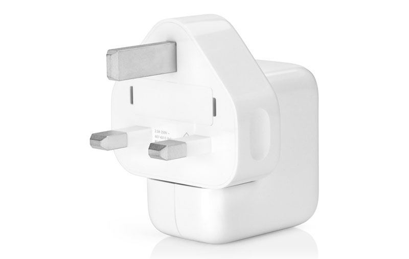 Have an Apple 12W USB power adapter? Use it to rapid-charge your iPhone 8. (Image source: Apple Store.)