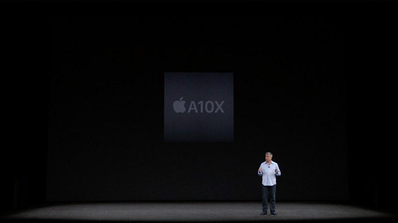 The Apple TV 4K uses the A10X Fusion chip, the same one used in the 10.5-inch iPad Pro.