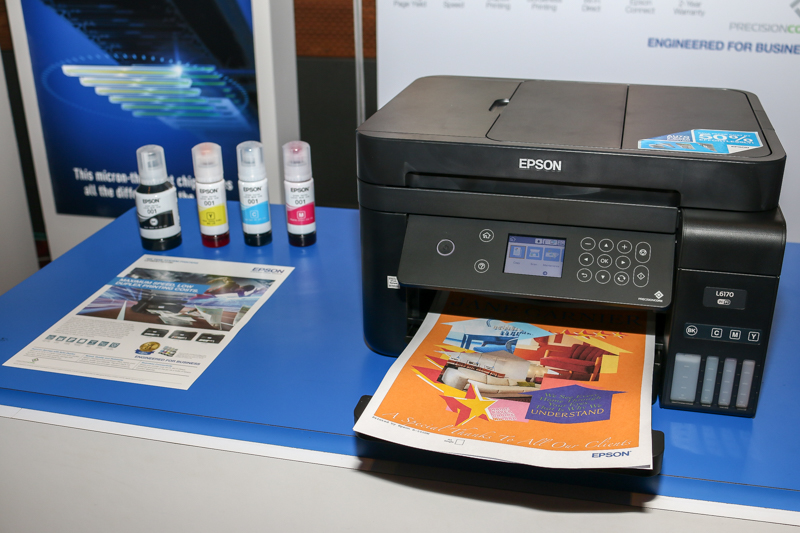 Epson Malaysia Unveils New Range Of L Series Inkjet