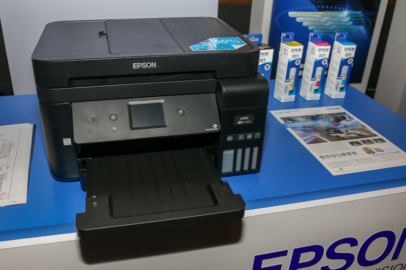 The Epson L6190 inkjet printer.