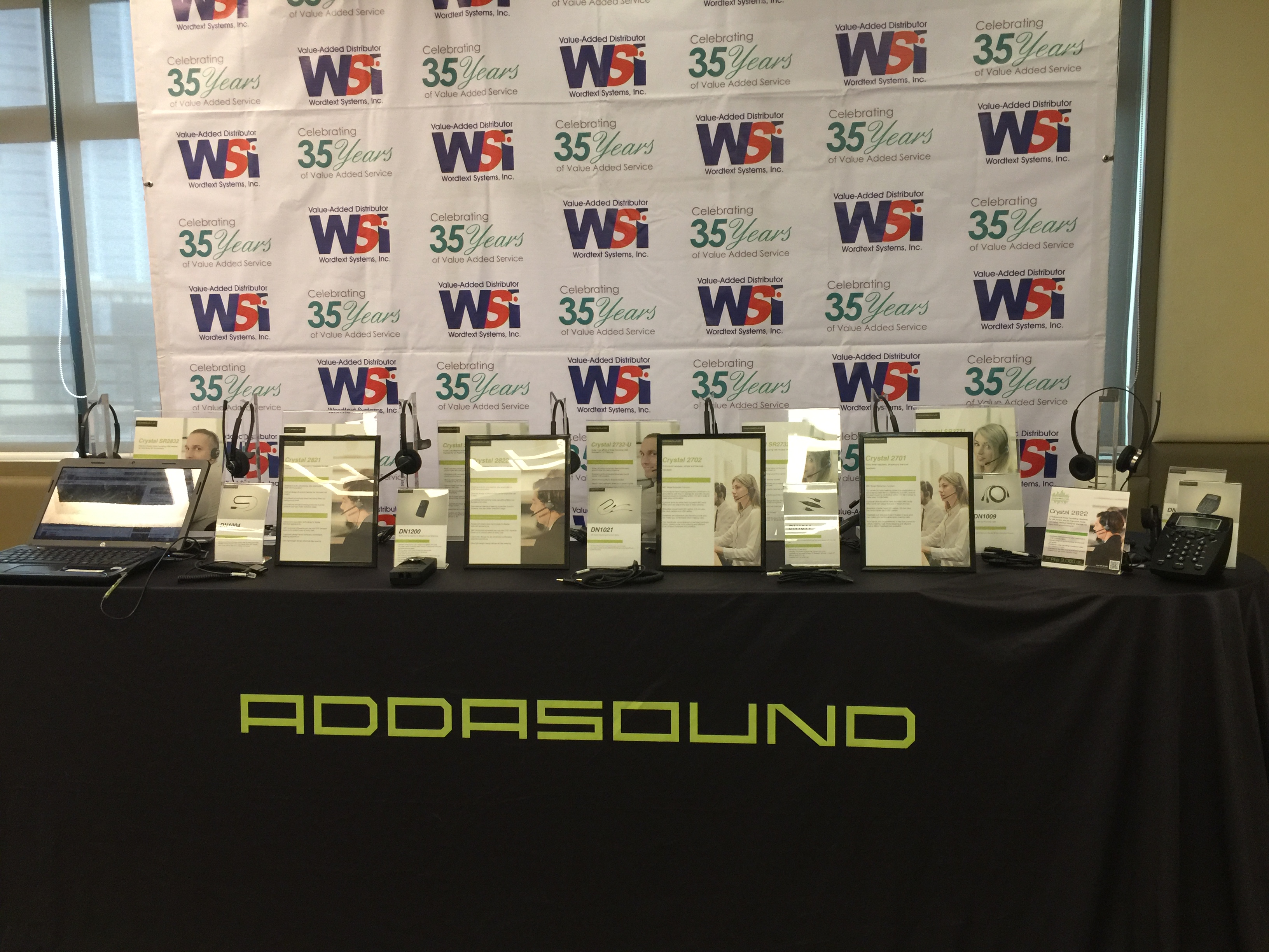 addasound, hardphones, headsets, softphones, wsi, wordtext systems inc