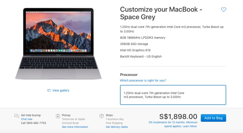 The 12-inch MacBook