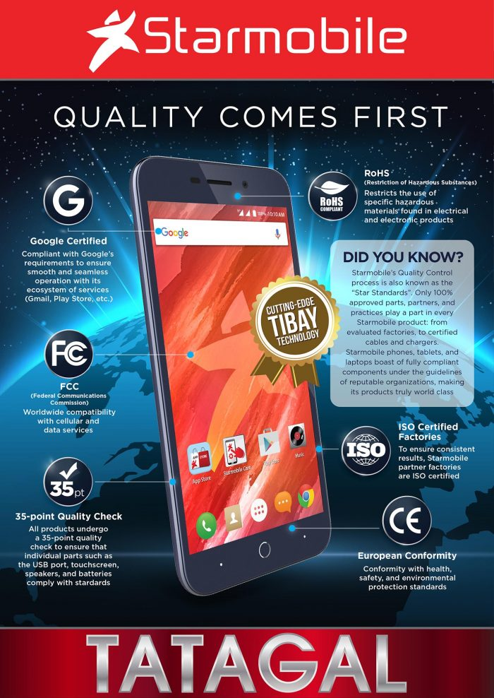 starmobile, fcc, european conformity, ce, rohs, smartphones, tablets, michael chen, certification