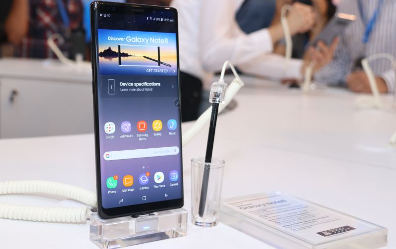 Samsung Malaysia Launches Galaxy Note8 Together With Song Ji Hyo