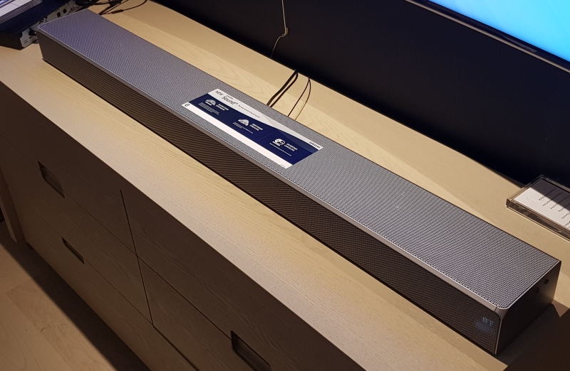 The Samsung MS751 Soundbar Sound+.