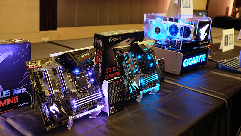 Gigabyte unveils new Aorus Z370 motherboards for Intel's 8th