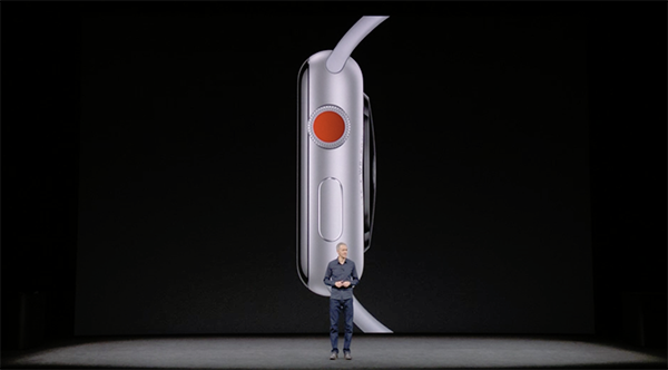 Even with the added cellular modem, the Apple Watch Series 3 is just 0.25mm thicker.