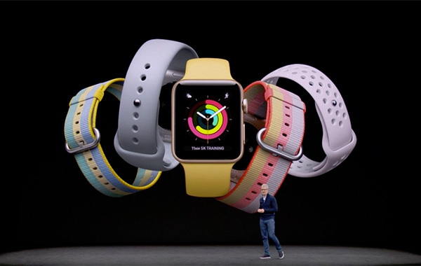 The new Apple Watch Series 3 might look like its predecessors, but it has some big new features.