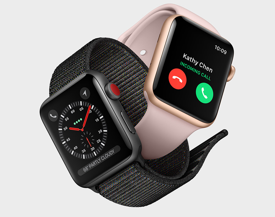Apple Watch Series 3 is Apple's third generation smartwatch.