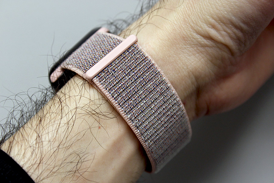 This is the new Sport Loop watch band.