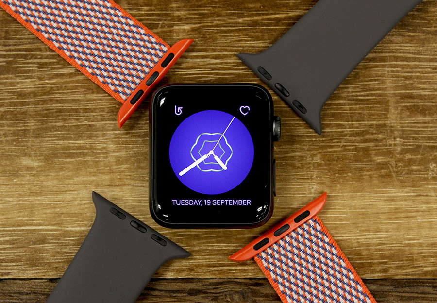 Apple's straps for its smartwatch are very well designed and made.