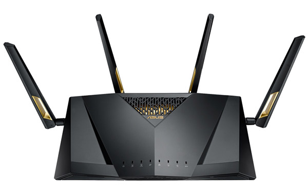 Singapore is the first country to get this new 802.11ax router. (Image source: ASUS)