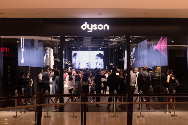 Dyson Demo at The Gardens Mall, Kuala Lumpur.